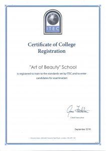 ITEC-AOB-sertifikatas